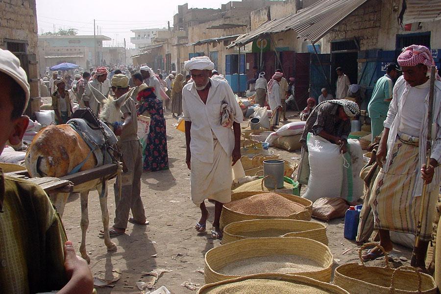 Markt in Bait al Faqih