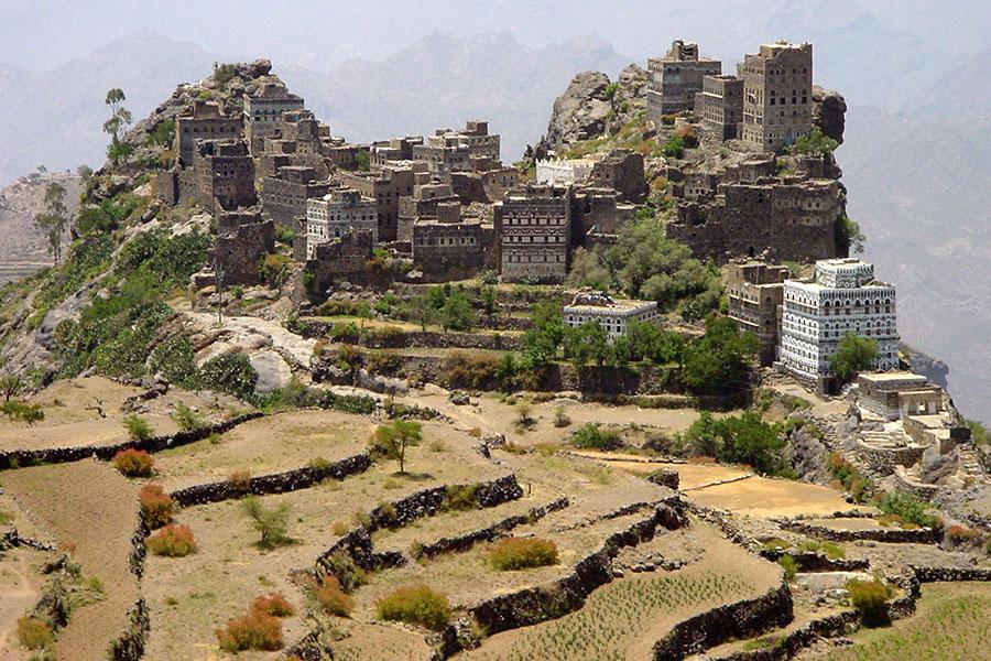 Al Hajjara in de Haraz bergen