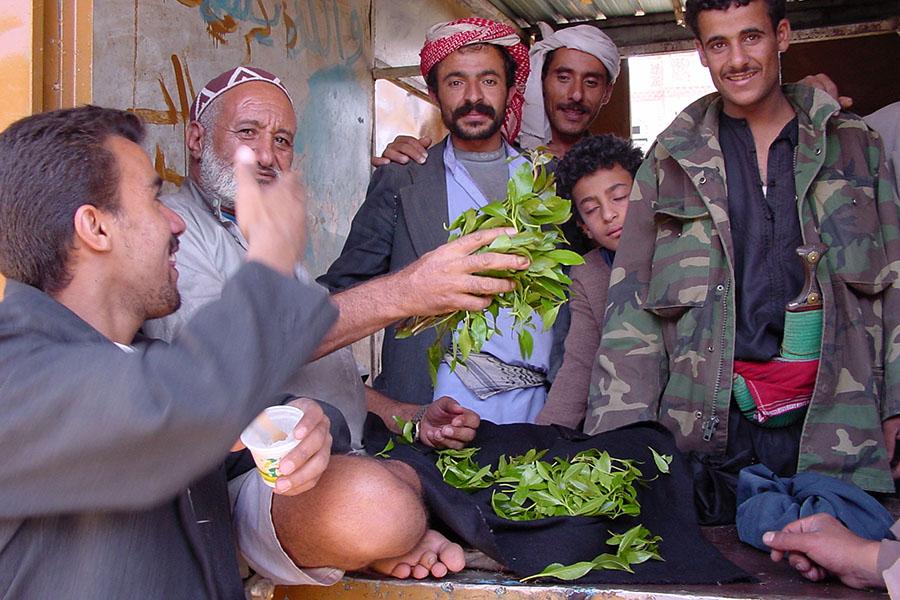 Onderhandelen op de qat markt