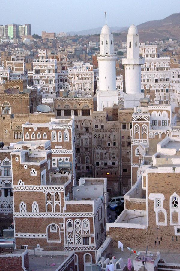 Uitzicht over Sana'a