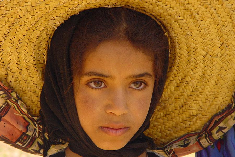 Meisje in de Haraz bergen