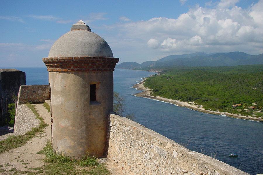 Castillo del Moro fortification near Santiago de Cuba