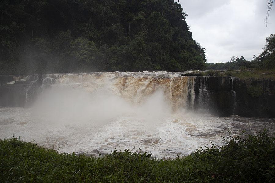 De Poubara waterval
