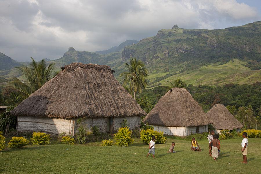 Navala in Fiji, waar ik mijn verjaardag vierde
