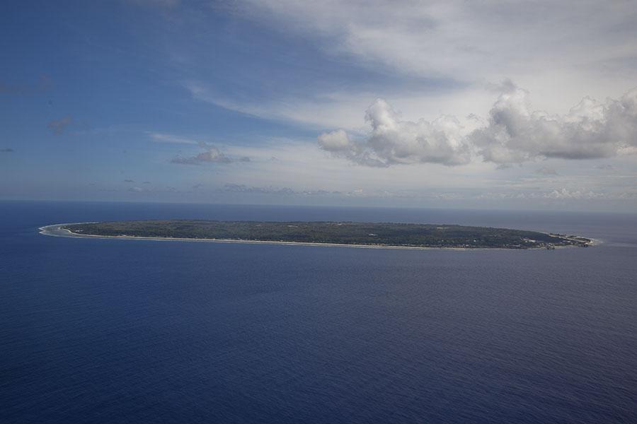 Nauru, een van de kleinste landen van de wereld
