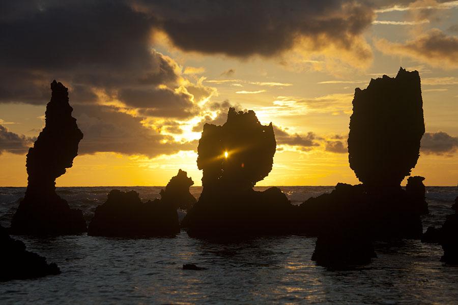 Zonsopkomst in Nauru