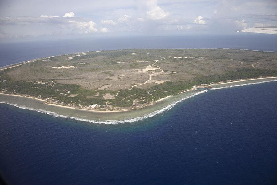 Ooit een tropisch eiland is Nauru nu vrijwel volledig kaal