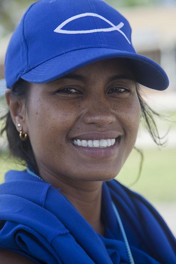 Ann, die me naar geheime plekken op Nauru bracht