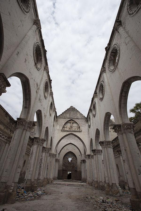 De kathedraal van Mogadishu