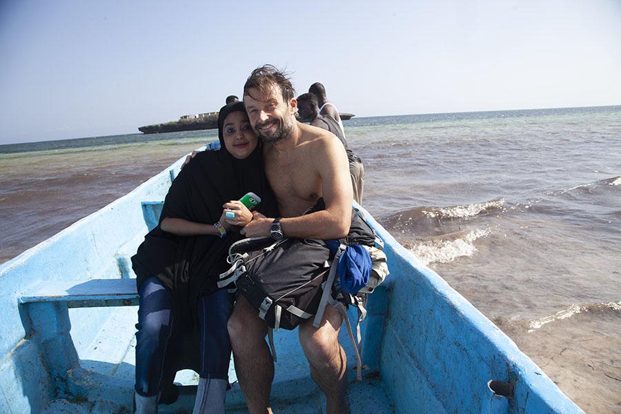 Op bootje met Somalische bij Jazeera