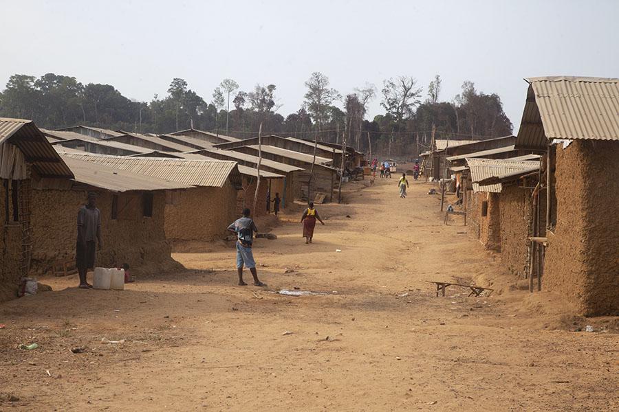 Kinjor, nieuw dorp bij de goudmijn