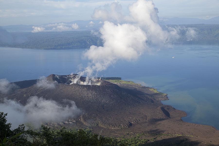 Vulkaan van Rabaul