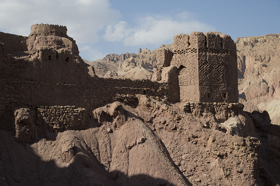 Ruins of the Red City near Bamiyan
