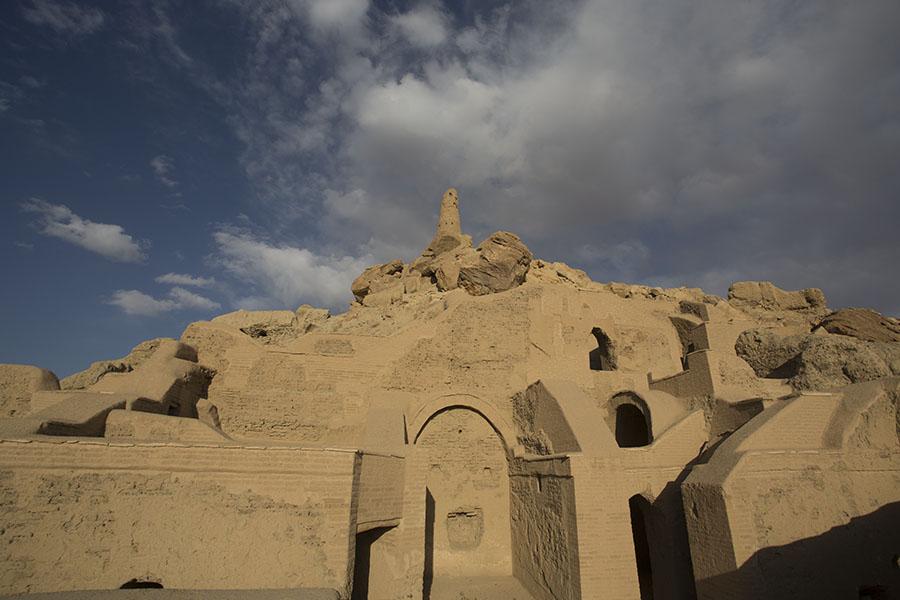 Ruins of Shahr-e Golghola, the city of Screams