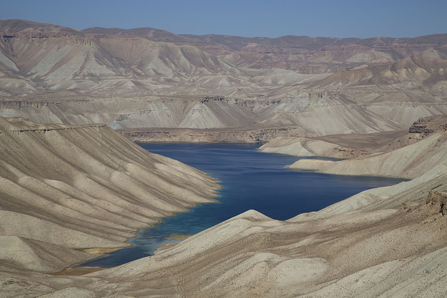 The highest lake of Band-e Amir