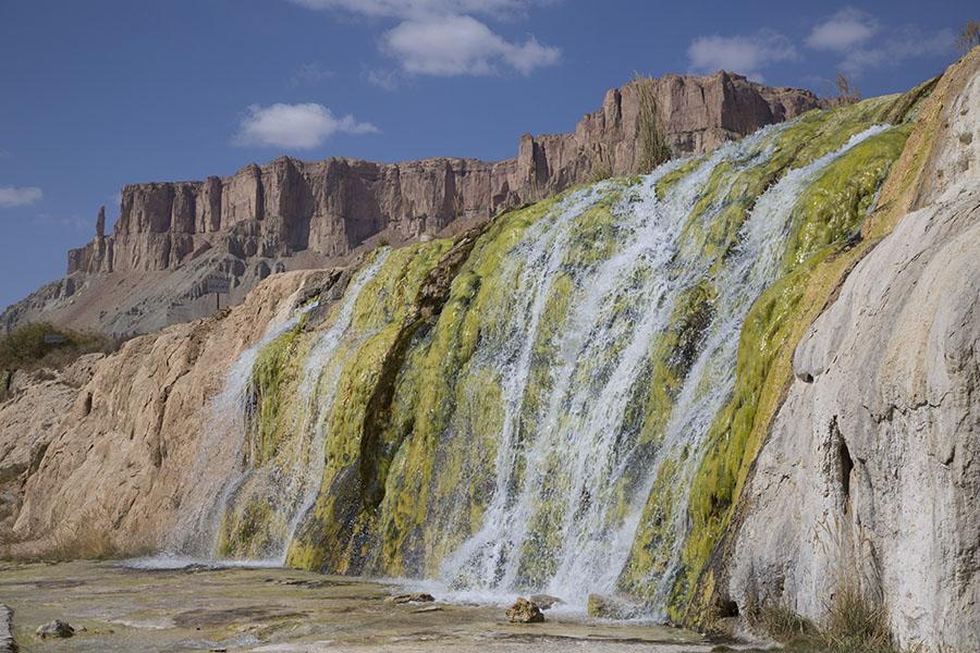 Waterfall at Band-e Amir