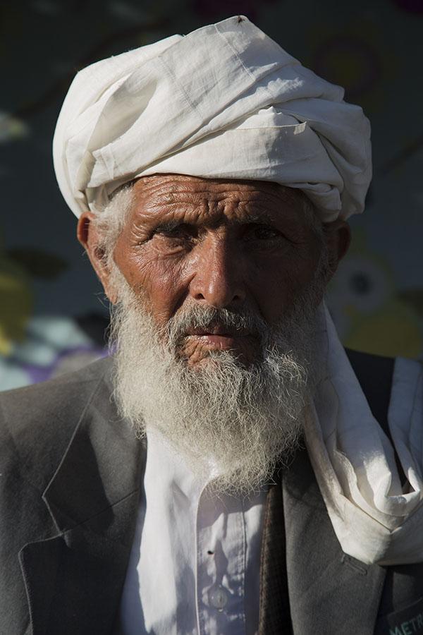 Man with turban in Herat
