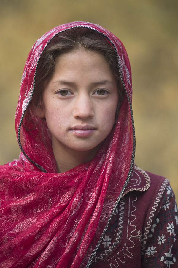Girl near Bamiyan